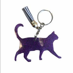 Handmade Cat Keychain